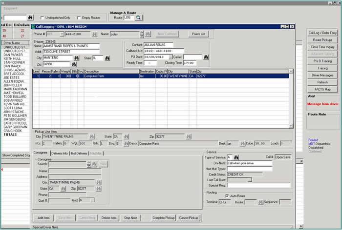 Complete Order Entry & Transportation Management | Carrier ...