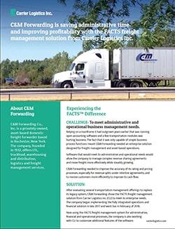 C&M Forwarding Case Study